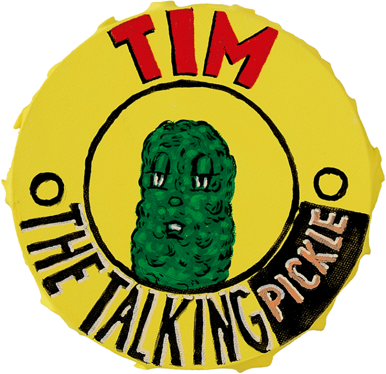 Tim the talking pickle